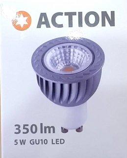 LED žárovka Action 5W / GU10